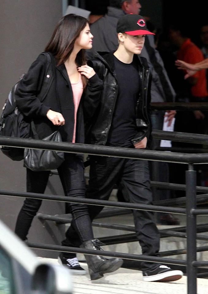 "HollywoodLife reports Justin Bieber and Selena Gomez are engaged after he ""whisked [her] away on a romantic vacation to propose."" The site says Gomez was ""caught"" in Mexico with an ""engagement ring"" on her left hand. For how Bieber popped the question, and when they'll officially announce their engagement, see what a Gomez confidante reveals exclusively to <a target=""_blank"" href=""http://www.gossipcop.com/selena-gomez-engaged-engagement-ring-justin-bieber-proposed-plane-mexico/"">Gossip Cop</a>."