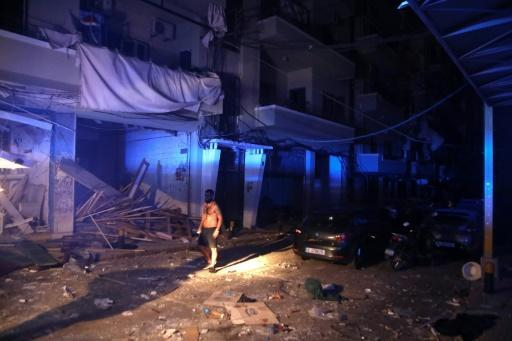 AFP correspondents across the city saw shop and apartment windows blown out and streets covered with broken glass