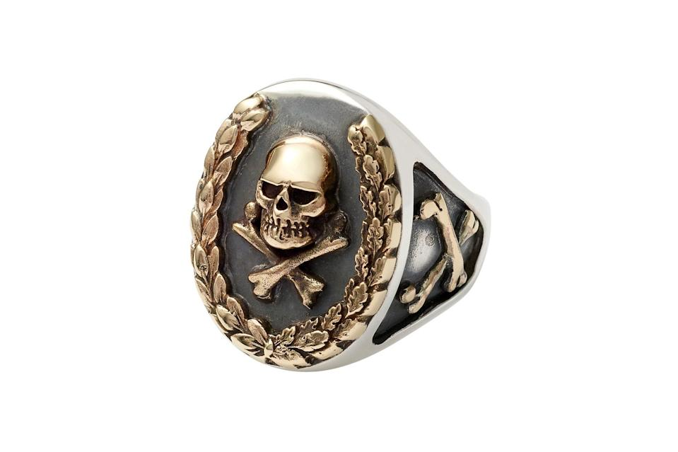 """$650, The Great Frog. <a href=""""https://www.thegreatfroglondon.com/product/wreath-ring/"""" rel=""""nofollow noopener"""" target=""""_blank"""" data-ylk=""""slk:Get it now!"""" class=""""link rapid-noclick-resp"""">Get it now!</a>"""