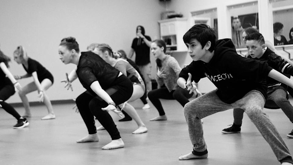 Boys, girls, women and men dance in a class together. (TODAY)