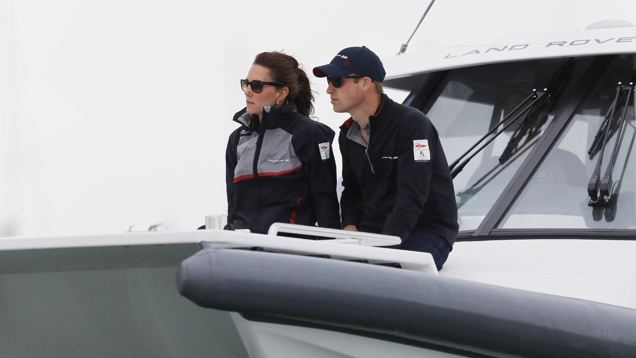 Sailing has been a part of Princess Kate and Prince William's life together since they first met at St. Andrew's University in Scotland