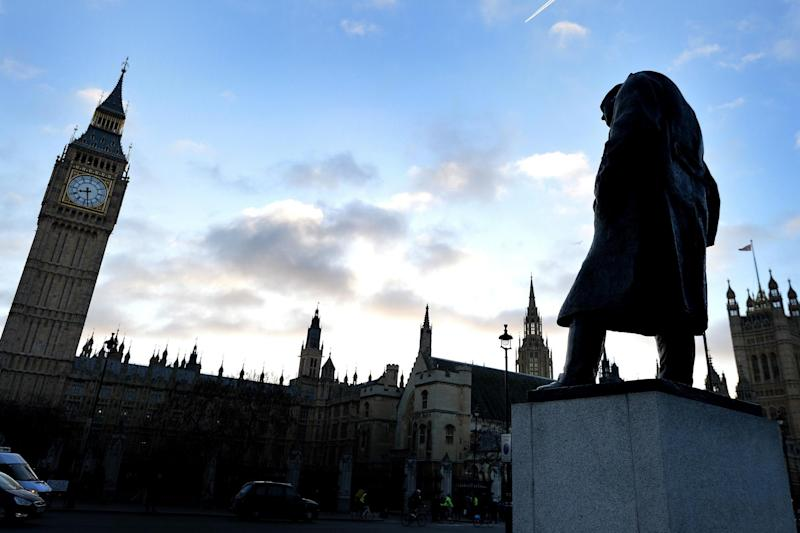 The statue will be just yards from the figure of iconic former Prime Minister Winston Churchill: PA Archive/PA Images