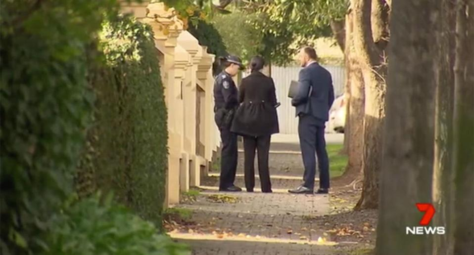 Police were called in and an investigation is underway. Source: 7 News
