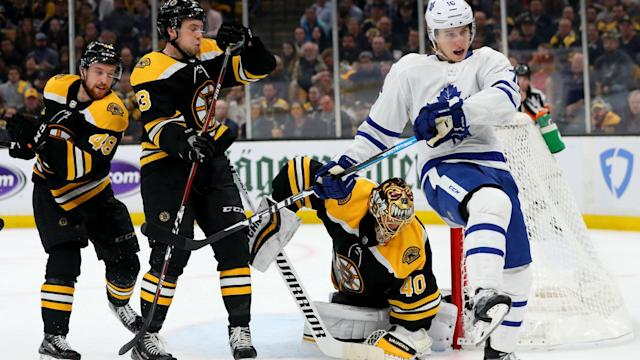 A controversial goalie interference call may have cost the Bruins a chance at winning Game 5. Several professional netminders weighed in on the decision.