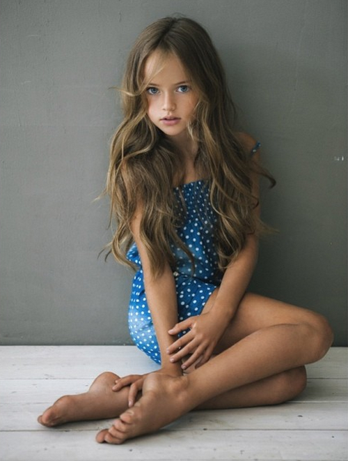 Is 8 Year Old Kristina Pimenova The Most Beautiful Girl In