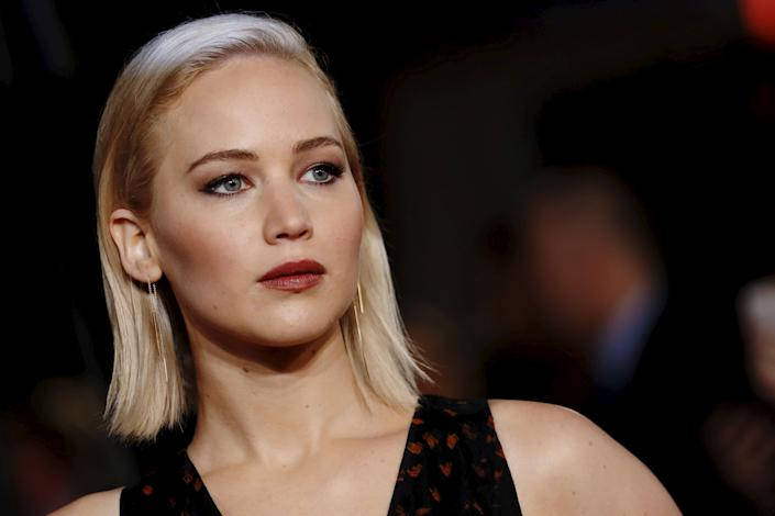 """Jennifer Lawrence&nbsp;won an Academy Award for """"Silver Linings Playbook,"""" which The Weinstein Company distributed. She called the alleged harassment """"inexcusable and absolutely upsetting.""""<br><br>""""I worked with Harvey five years ago, and I did not experience any form of harassment personally, nor did I know about any of these allegations. This kind of abuse is inexcusable and absolutely upsetting,"""" <a href=""""https://www.glamour.com/story/jennifer-lawrence-harvey-weinstein-allegations"""" rel=""""nofollow noopener"""" target=""""_blank"""" data-ylk=""""slk:Lawrence said in a statement."""" class=""""link rapid-noclick-resp"""">Lawrence said in a statement.</a>&nbsp;""""My heart goes out to all of the women affected by these gross actions. And I want to thank them for their bravery to come forward."""""""