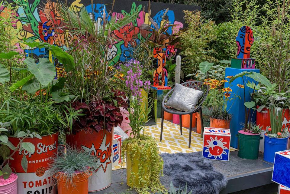<p><strong>CONTAINER GARDEN</strong></p><p>Designed by John McPherson, Pop Street Garden is designed as a space to get energised and jump-start the transition from 'lockdown to on-the-town'.</p>
