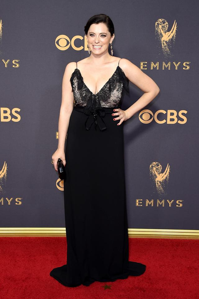 Look for this gown online tomorrow, people. (John Shearer via Getty Images)