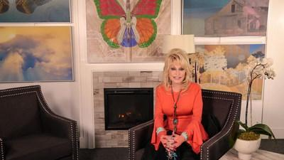 Dolly Parton with Kirkland's From the HeART Collection