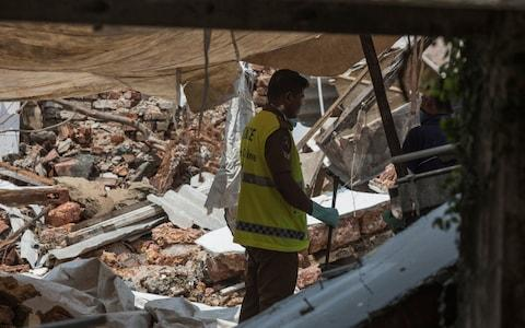 The guesthouse blown up by Abdul Lathief Jameel Mohamed - Credit: Sam Tarling
