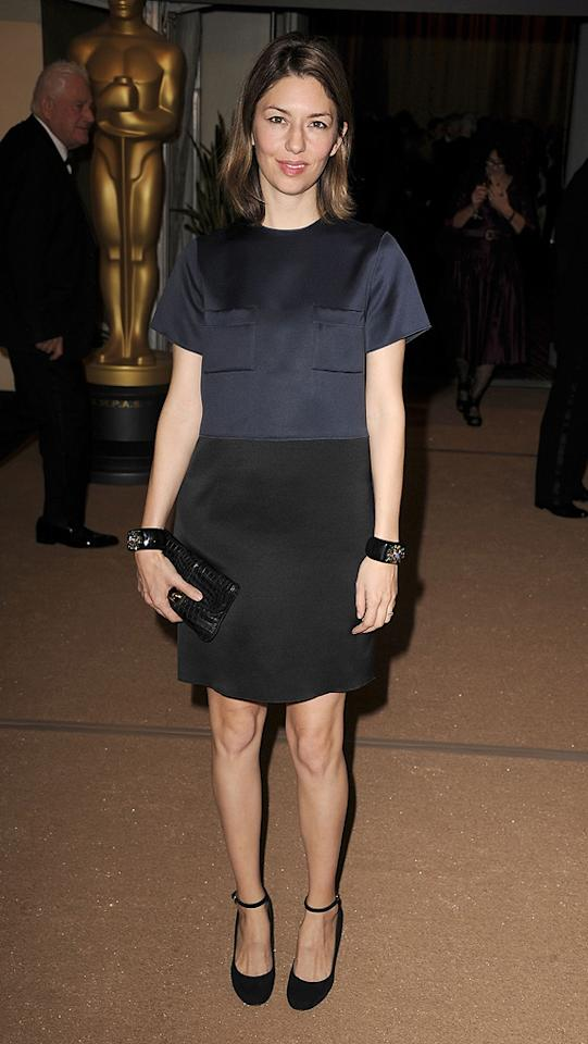 "<a href=""http://movies.yahoo.com/movie/contributor/1800071093"">Sofia Coppola</a> attends the 2nd Annual AMPAS Governors Awards in Los Angeles on November 13, 2010."