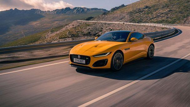 PHOTO: The latest Jaguar F-TYPE sports car was redesigned for 2021. (Jaguar Land Rover)