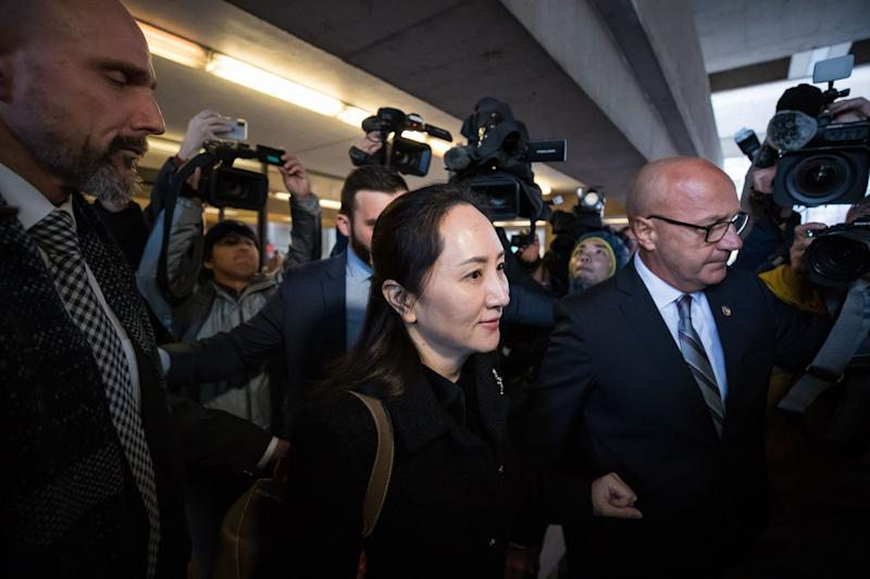 Huawei CFO's Lawyers Say U.S. Fraud Charges Are a 'Facade'