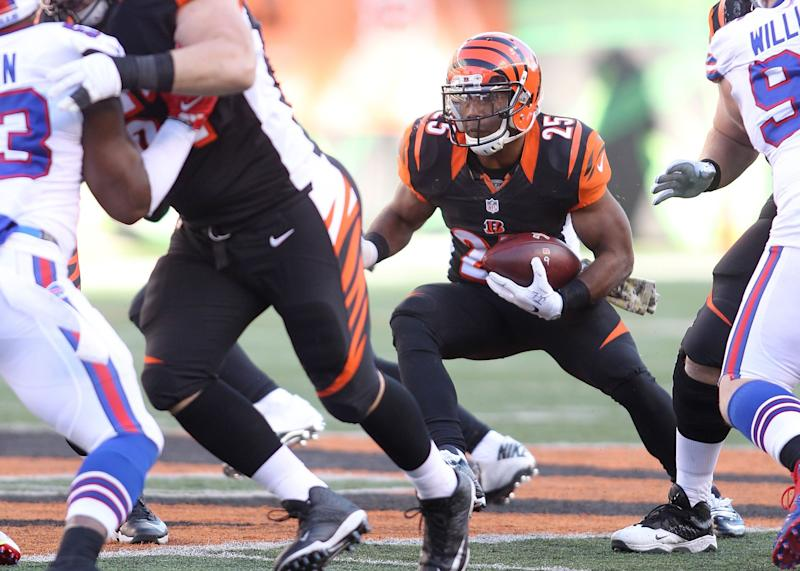 Bengals' Bernard out for season; Green may return