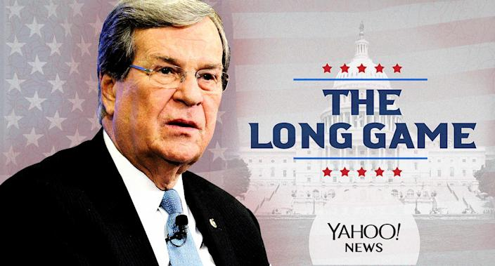 Former Mississippi Sen. Trent Lott. (Photo illustration: Yahoo News; photos: Getty Images)