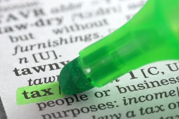 Tax dictionary definition