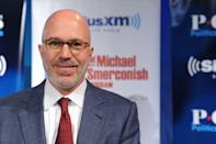 """<p>The radio talk show host and MSNBC political commentator started working at McDonald's in 1978. """"If I were in college admissions, I would have a lot more respect for a person who had punched a clock, gotten a little dirty, and learned how to rotate stock than someone who had a glamorous internship,"""" Michael <a href=""""http://goldenopportunitybook.com/michael-a-smerconish/"""" rel=""""nofollow noopener"""" target=""""_blank"""" data-ylk=""""slk:told Teets"""" class=""""link rapid-noclick-resp"""">told Teets</a> for <em><a href=""""https://www.amazon.com/Golden-Opportunity-Remarkable-Careers-McDonalds/dp/1604332794/?tag=syn-yahoo-20&ascsubtag=%5Bartid%7C10063.g.36700579%5Bsrc%7Cyahoo-us"""" rel=""""nofollow noopener"""" target=""""_blank"""" data-ylk=""""slk:Golden Opportunity: Remarkable Careers That Began at McDonald's"""" class=""""link rapid-noclick-resp"""">Golden Opportunity: Remarkable Careers That Began at McDonald's</a></em>.</p>"""