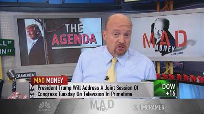 Jim Cramer spells out why international growth is far more important to the stock market's trajectory than Trump's agenda.