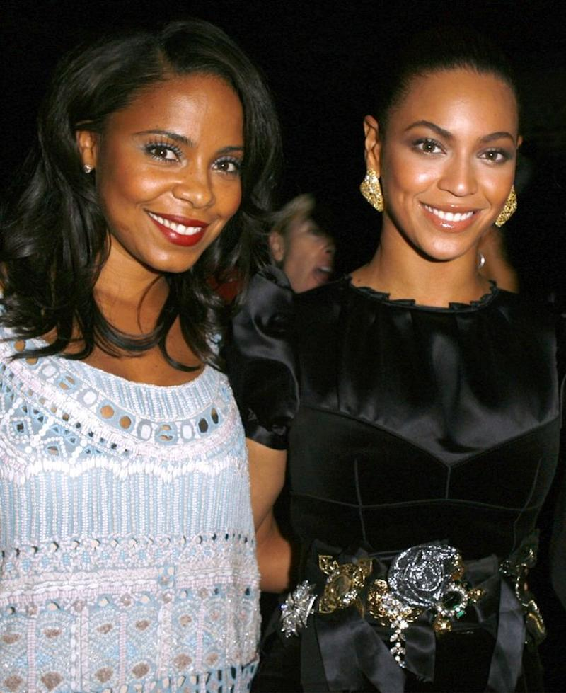 Sanaa Lathan and Beyoncé in 2008