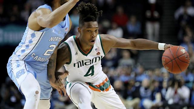 Donovan Mitchell turned a lot of heads during his rookie season with the Utah Jazz. Could Miami guard Lonnie Walker have a similar impact on a franchise picking in the middle of the first round?
