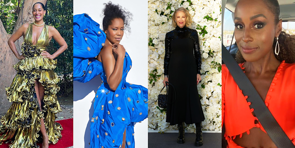 "<p>Was 2020's socially distanced <a href=""https://www.cosmopolitan.com/style-beauty/fashion/g34078325/red-carpet-dresses-looks-2020-emmy-awards/"" rel=""nofollow noopener"" target=""_blank"" data-ylk=""slk:Virtual Emmys"" class=""link rapid-noclick-resp"">Virtual Emmys</a> the weirdest awards ceremony of all time? Possibly! But did we mention that it was 2020? People are trying! And we can't help but be appreciative of their efforts to give us all something pretty and fabulous to look at. The conventional wisdom going into the night was that the at-home ""attendees"" and nominees were not likely to be giving us the high-fashion moments of Emmys past. <a href=""https://www.cosmopolitan.com/style-beauty/fashion/a34075353/emmys-red-carpet-2020-how-to-watch/"" rel=""nofollow noopener"" target=""_blank"" data-ylk=""slk:Without a red carpet"" class=""link rapid-noclick-resp"">Without a red carpet</a>, the thinking went, what would be the point of stars getting dressed up to stay home? </p><p>But thankfully, the stars and their stylists evidently disagreed, because the nominees and presenters of the 2020 Emmys put in the effort and gave America the moments of high glam and occasional elegance that we've all been craving. A little shot of sparkly normalcy in the midst of <em>all this</em>. It felt hopeful, like our favorite stars were letting us know that they're still going to do their best to entertain and dazzle us. So let's celebrate and salute that by picking the most memorable looks of the night. We're feeling nothing but love!</p>"