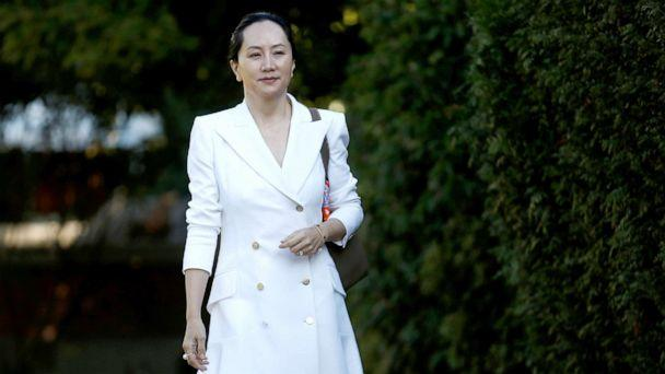 PHOTO: Huawei Technologies Chief Financial Officer Meng Wanzhou leaves her home to appear in British Columbia supreme court for a hearing, in Vancouver, British Columbia, Canada, Sept. 30, 2019. (Lindsey Wasson/Reuters, FILE)