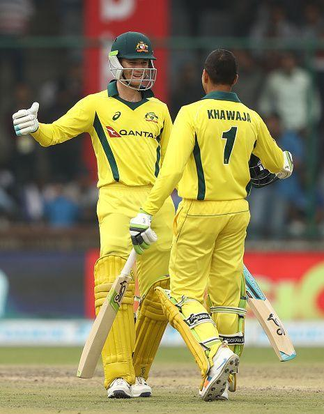 The success of Handscomb and Khawaja is very heartening for Aussies before the World Cup