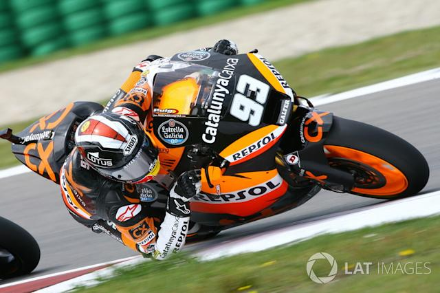 "2012: Marc Márquez (Suter) <span class=""copyright"">Gold and Goose / Motorsport Images</span>"
