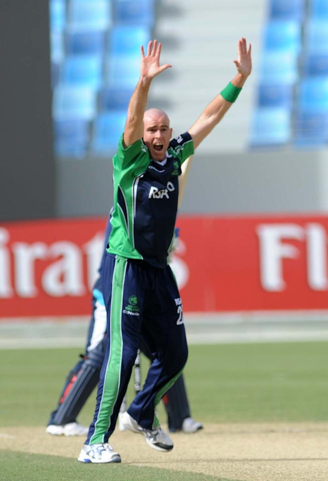 Trent Johnston (Ireland): The old warhorse of Irish cricket had a good tournament and played his part in Ireland's progress to the 2012 Twenty20 World Cup. The 37-year-old Johnston took 13 wickets from 10 matches at an average of 16.84 and economy rate of 5.91.