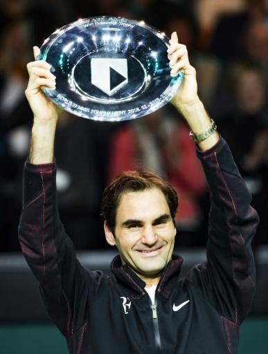 <p>'One of the best weeks of my life', says Federer after 97th title</p>