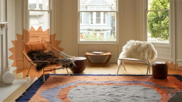Photo Illustration by Scouted/The Daily Beast/Revival Rugs