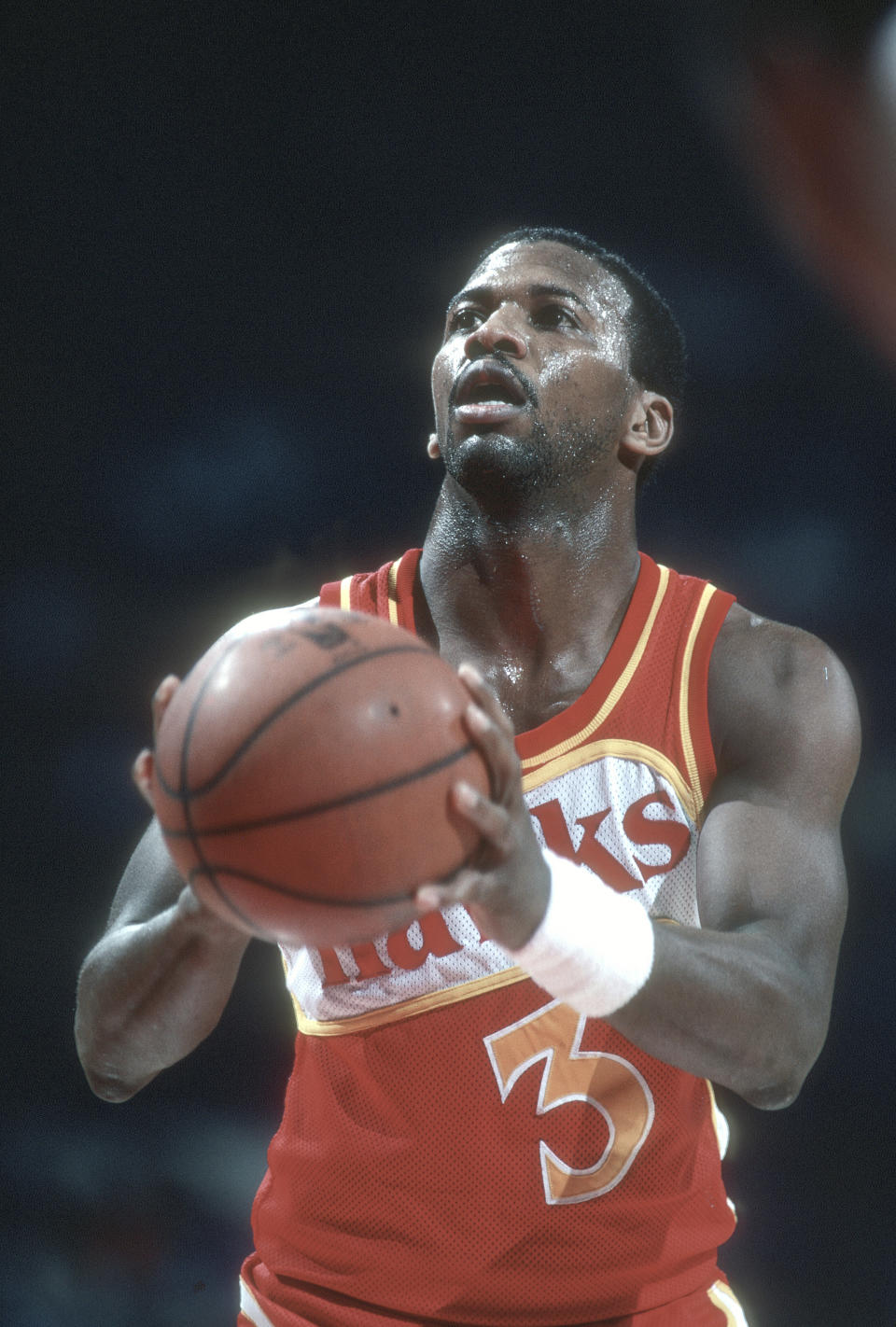Former Atlanta Hawks star Eddie Johnson