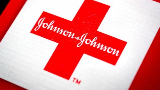 PHOTO: The Johnson & Johnson logo is arranged for a photograph in New York, April 15, 2013. (Scott Eells/Bloomberg via Getty Images)
