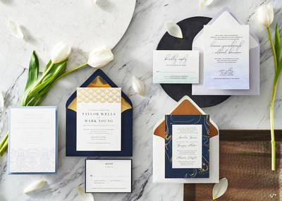 Introducing Neil Lane by Paper Source exclusive wedding invitation collection.
