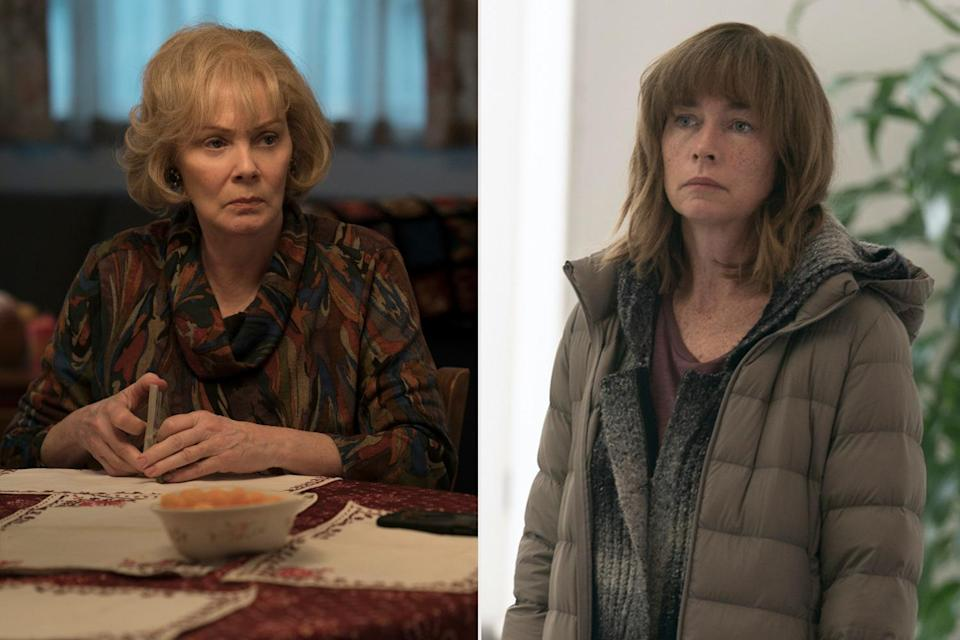 <p>are both nominated for outstanding supporting actress in a limited series or a movie for their roles in <em>Mare of Easttown</em>. </p>