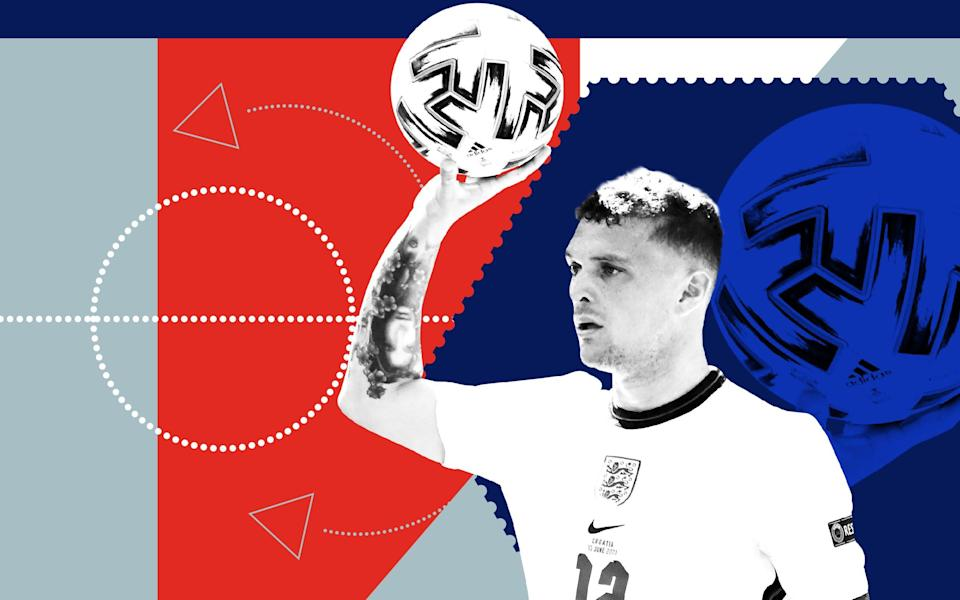 England unveil new trick against Croatia: the inventive 'inside' throw-in - Custom image