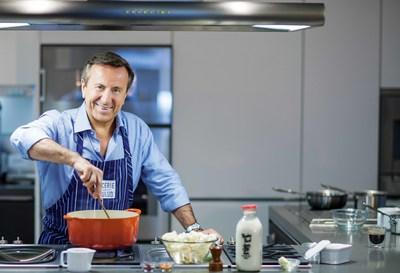 Chef Daniel Boulud in the kitchen. Photo by Thomas Schauer.
