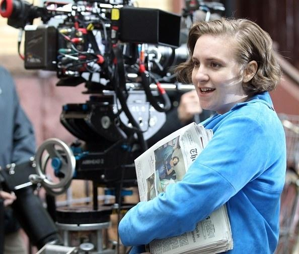 Lena Dunham Stole a Prop From the Set of Girls for Her Apartment