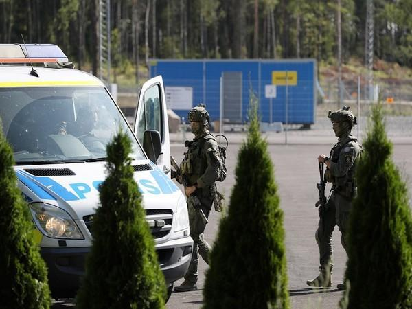 Police vehicle outside Hallby prison in Sweden. (Photo Credit - Reuters)