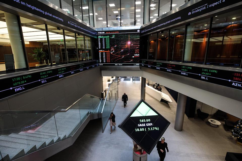 <p>File Image: FTSE 100 has increased 6.5% this year to date </p> (Getty Images )