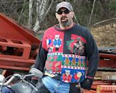 """<div class=""""caption-credit""""> Photo by: Rock Your Ugly Christmas Sweater</div>Real men wear ugly Christmas sweaters."""