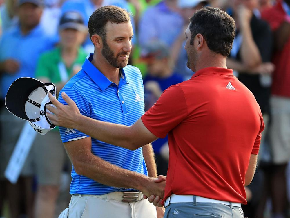 Rahm lost out to Johnson at the WGC Match Play (Getty)