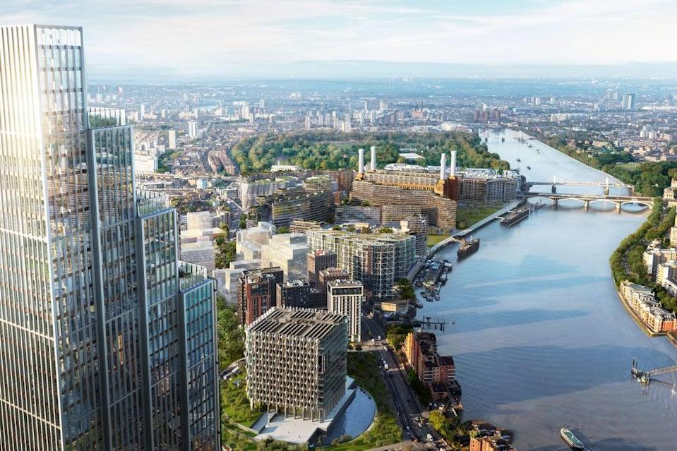 Prices from £997,500: homes in One Thames City are at the Vauxhall end of Nine Elms  (Handout)