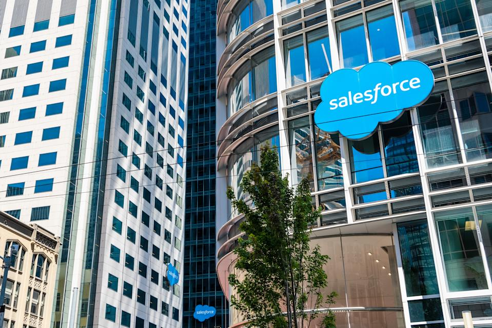 Salesforce topped Glassdoor's list of highest paying companies in the UK. Photo: Getty Images