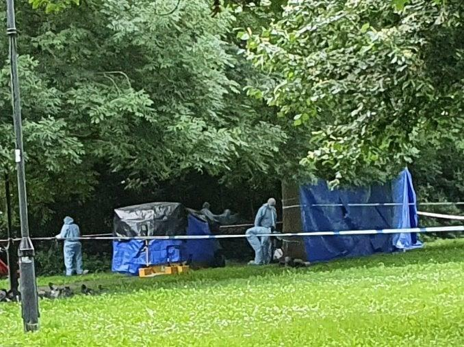 Police investigate the death of a man in Brixton Hill, Lambeth (Jason Bell)