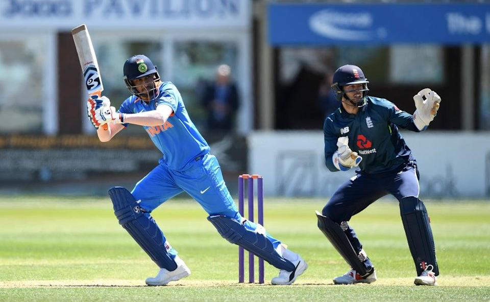 Krishnappa Gowtham in action for India (Getty Images)