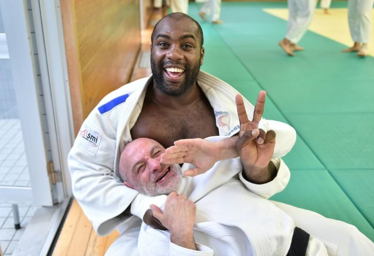 Riner has been judo world champion 10 times in his 15-year career