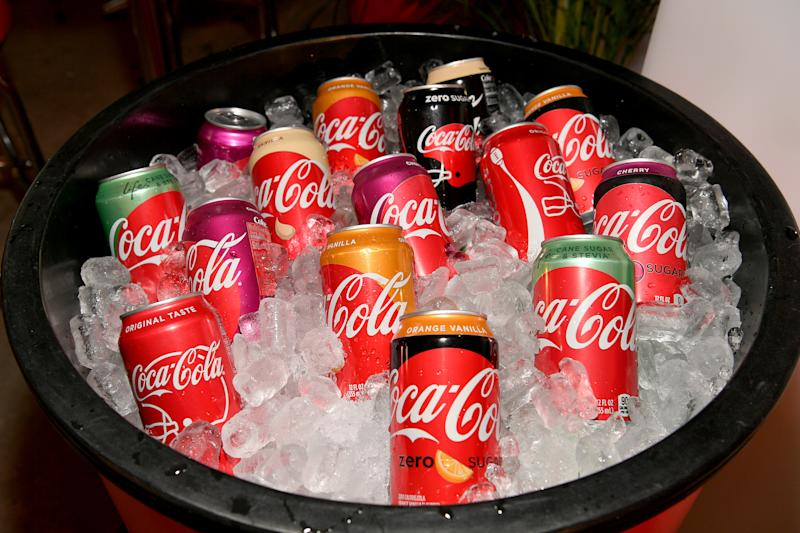Coca-Cola's quarterly sales tops Wall Street expectations""