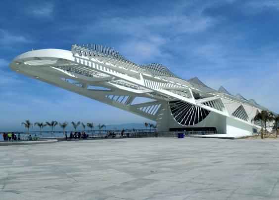 The Museum of Tomorrow is worth a visit for the architecture alone (Getty Images)