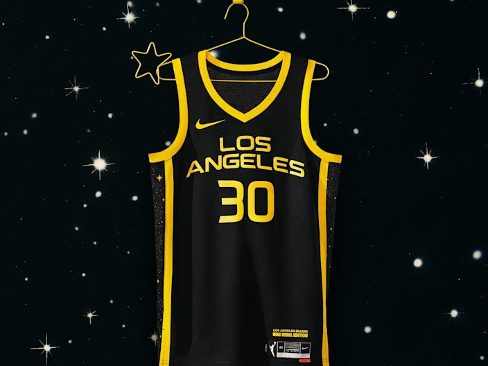 Los Angeles Sparks Rebel Edition Jerseys